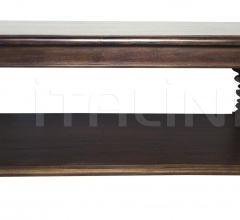 Ferret Coffee Table, Hand Rubbed Brown GTAB116HBR