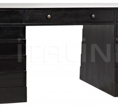 Faust Desk, Hand Rubbed Black GDES157HB