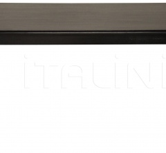 Ferret Dining Table, Distressed Black GTAB412D1
