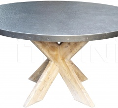 "Austin Table with Zinc Top, 54"" GTAB471-54"