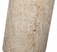Cliff Stool, Large, White Marble AM-197L