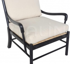 Kevin Chair, Hand Rubbed Black SOF204HB