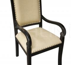 Henry Arm Chair, Hand Rubbed Black GCHA119AHB-C