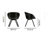 Стул SCOOP LOW CHAIR Tom Dixon