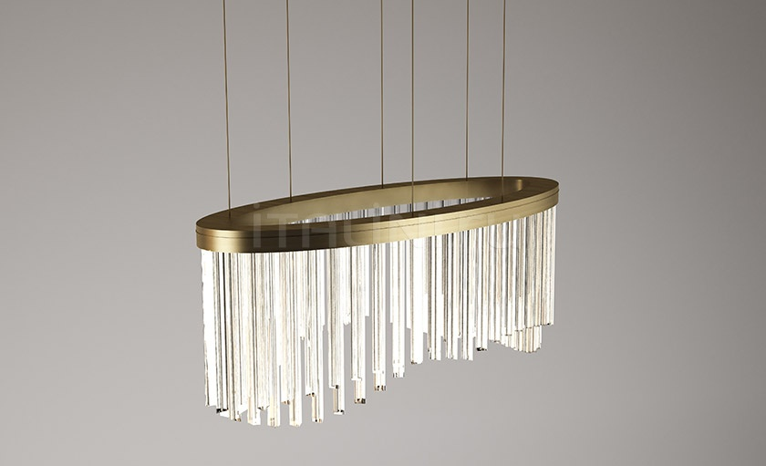 Люстра Wave chandelier Paolo Castelli