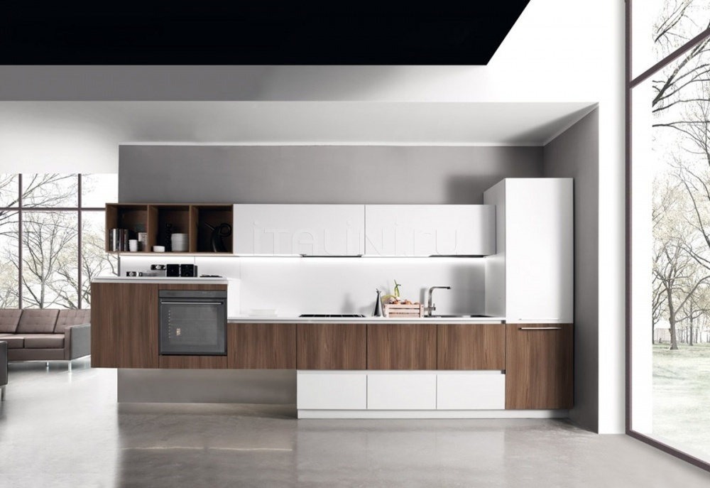 Кухня Sincro Wood Miton Cucine