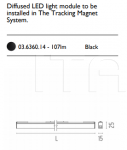 Светильник The Tracking Magnet Flos