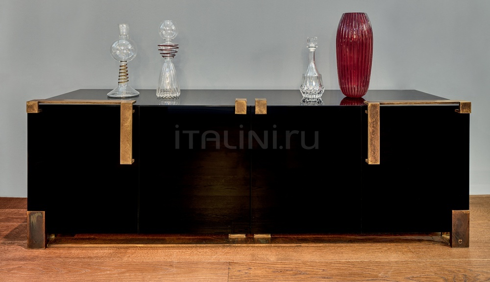 Буфет Black & Gold Cabinet Paolo Castelli