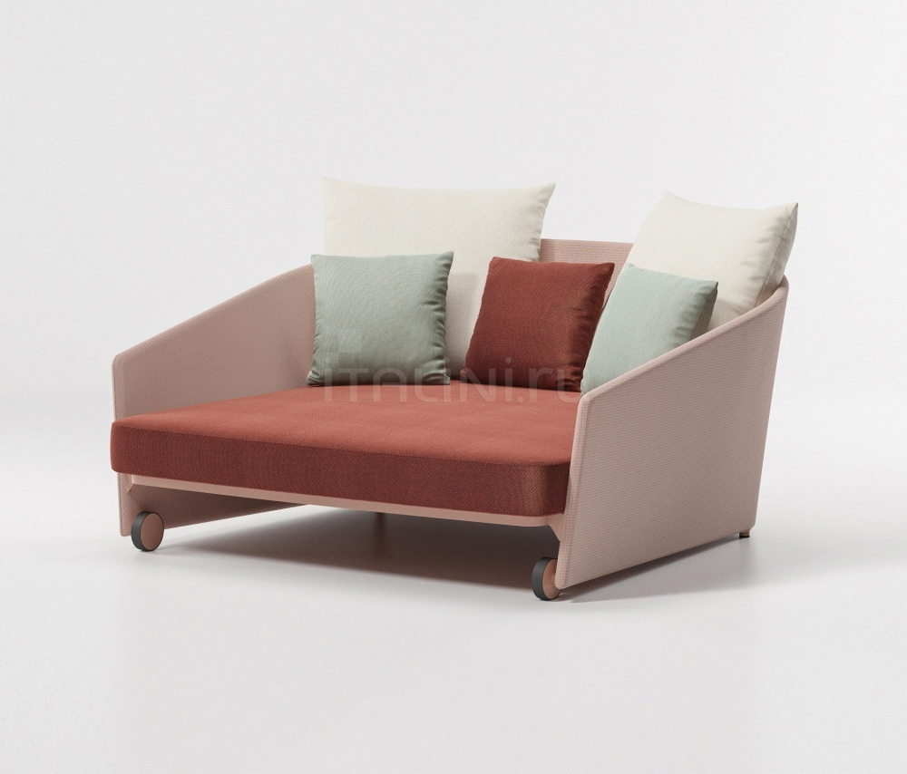 Диван Bitta Lounge Daybed parallel fabric Kettal